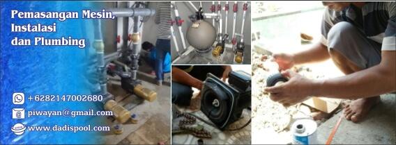 pemasangan mesin instalasi dan plumbing